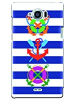 SH-02G ケース カバー Disney Mobile docomo マリン ラグジーイニシャルG