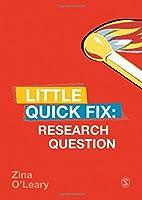 Research Question: Little Quick Fix