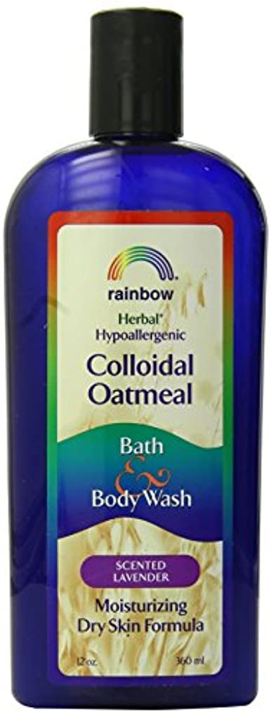 不毛床匿名海外直送肘 Body Wash Lavender Colloidal Oatmeal, Lavender 12 Oz