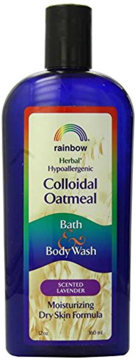 振りかける暖かく素敵な海外直送肘 Body Wash Lavender Colloidal Oatmeal, Lavender 12 Oz