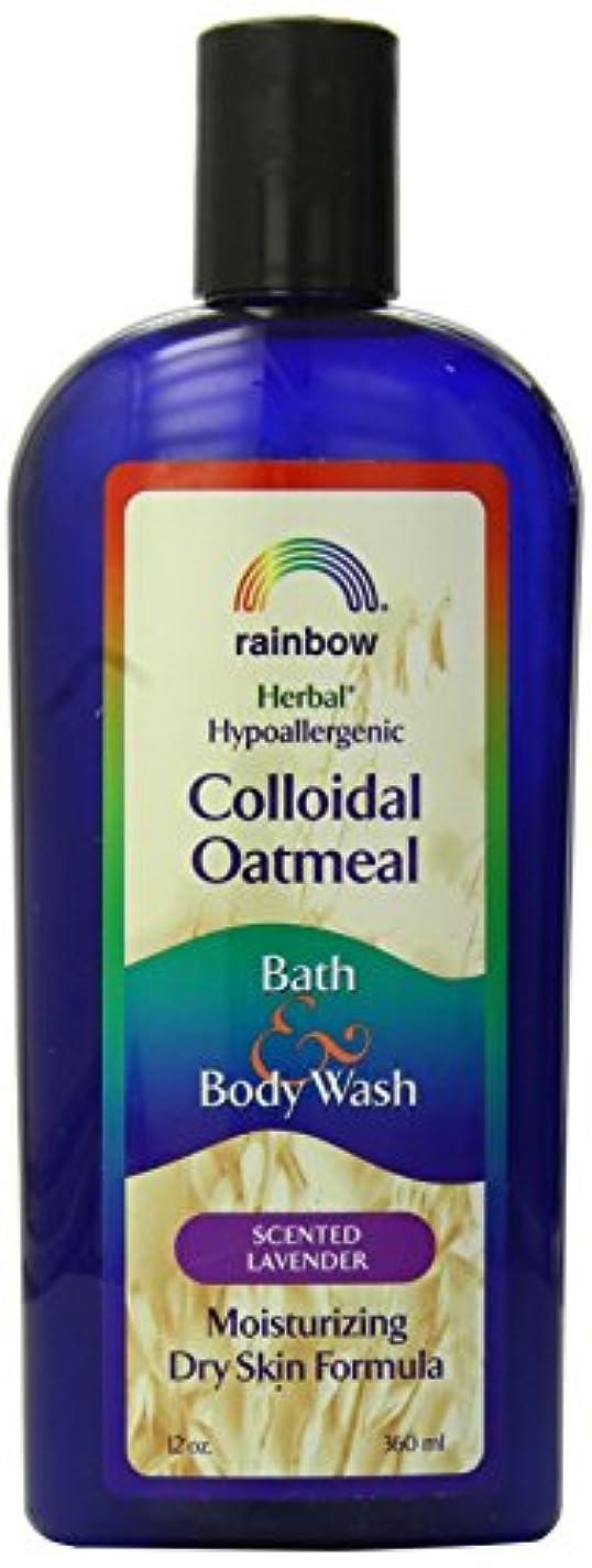 羽側面ビリーヤギ海外直送肘 Body Wash Lavender Colloidal Oatmeal, Lavender 12 Oz