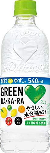サントリー GREEN DA・KA・RA 540mペット×24本