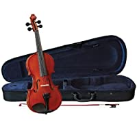 Anton Breton AB-01 Student Violin Outfit - Traditional Red - 4/4 Size [並行輸入品]