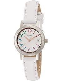 [ingene]アンジェーヌ 腕時計 クオーツ 日常生活用強化防水(5気圧) AHJT420 レディース
