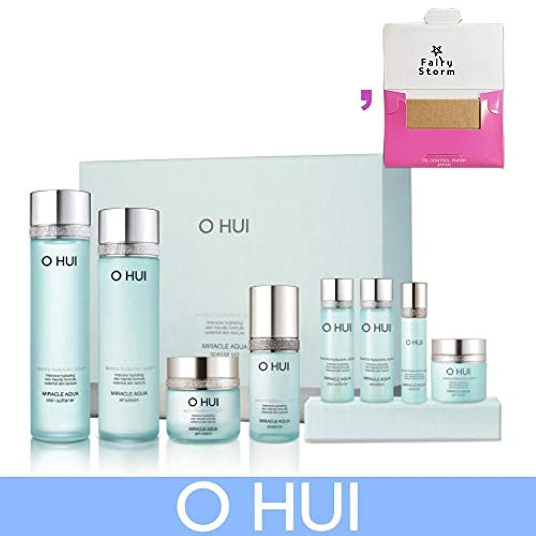 未接続乳白なる[オフィ/O HUI]韓国化粧品 LG生活健康/O HUI MIRACLE AQUA SPECIAL SET/ミラクル アクア 4種セット + [Sample Gift](海外直送品)