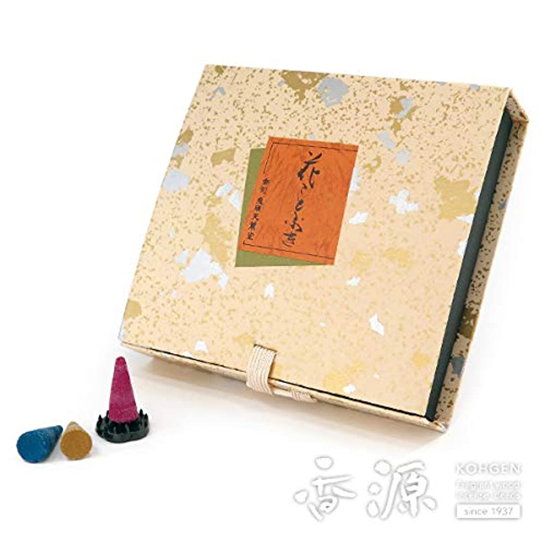 パズルオークランド見物人鬼頭天薫堂のお香 花ことぶき コーン型36個入