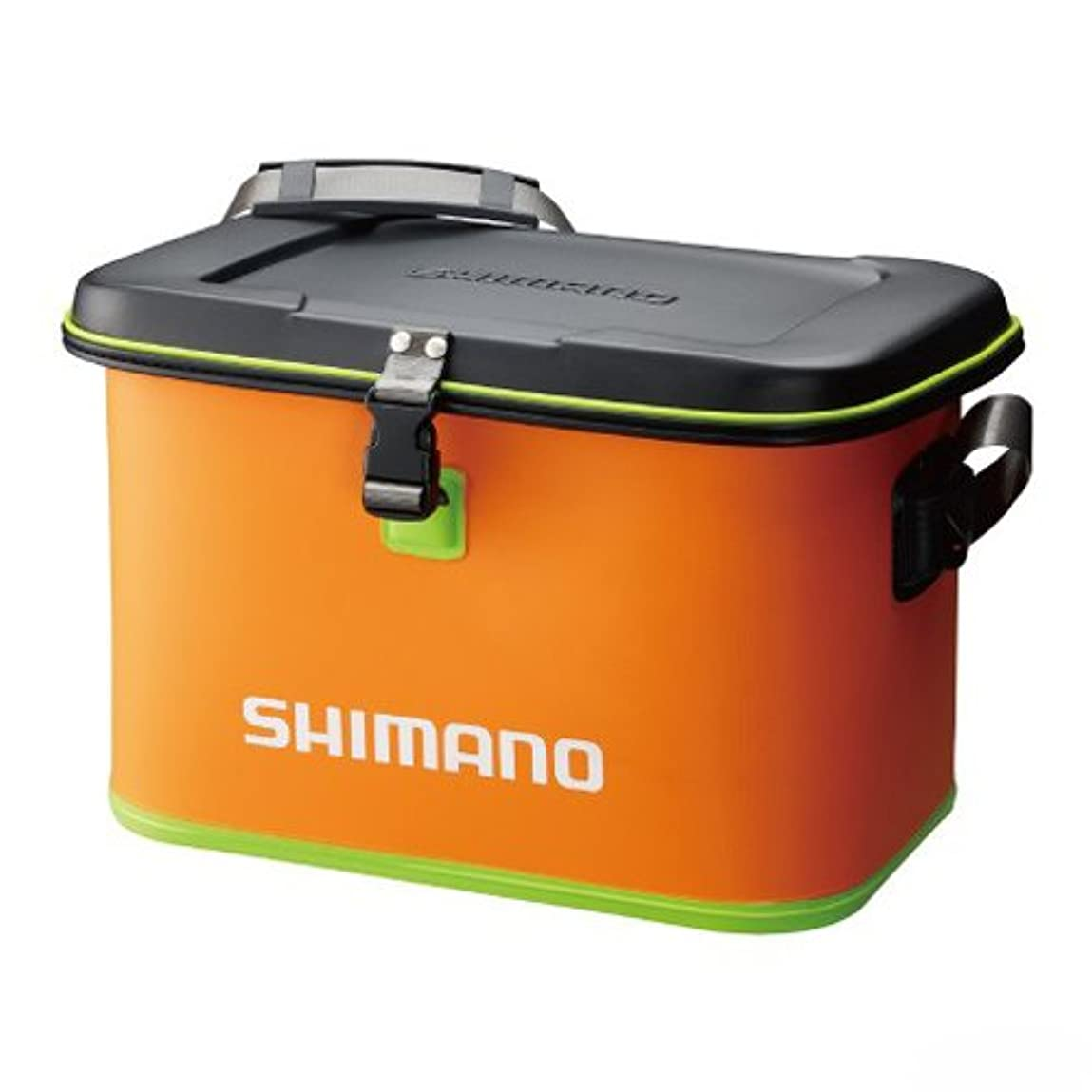 こどもの日社説急ぐシマノ EVA タックルバッグ (ハードタイプ) BK-061M オレンジ L