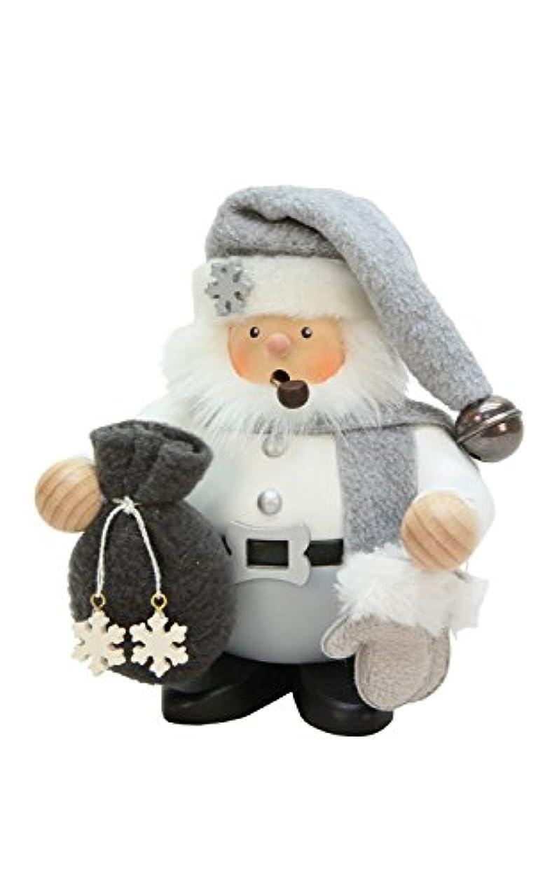 クロスうぬぼれ指Alexander Taron 1-472 Christian Ulbricht Incense Burner - Santa Claus with Grey & White Outfit