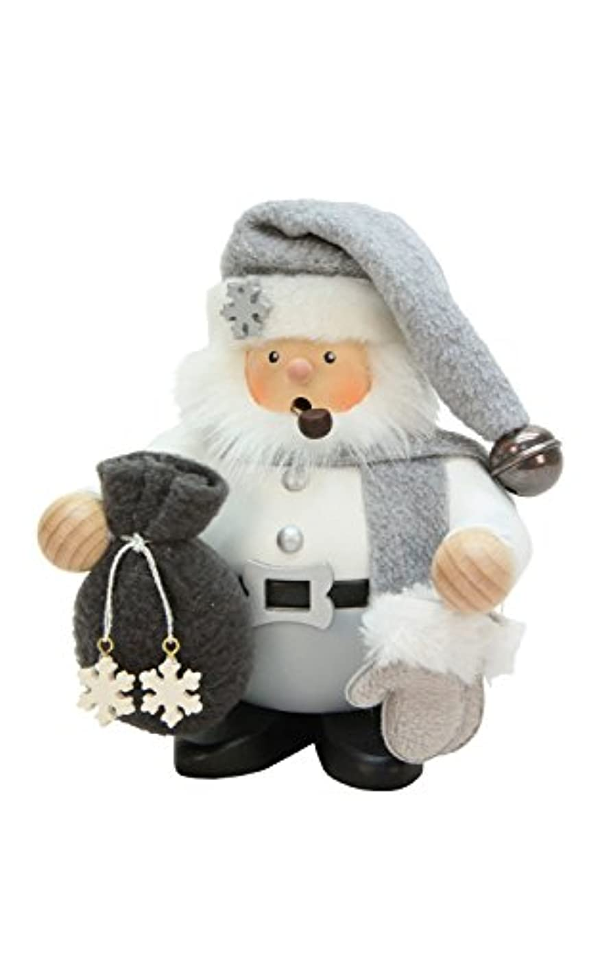 ゴールお母さん操るAlexander Taron 1-472 Christian Ulbricht Incense Burner - Santa Claus with Grey & White Outfit