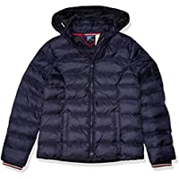 Tommy Hilfiger Women's Adaptive Quilted Jacket with Magnetic Zipper