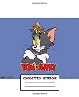 Composition Notebook: Tom and Jerry Soft Glossy Cover Wide Ruled Lined Pages Book 7.5 x 9.25 Inches 110 Pages