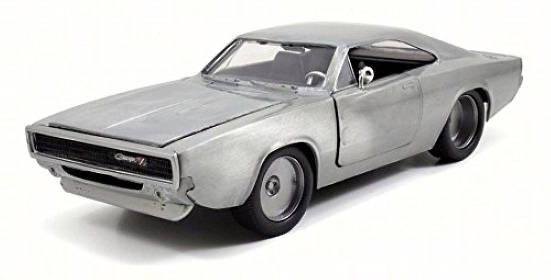 JADA TOYS ミニカー 1/24サイズ FAST&FURIOUS Dom's Dodge Charger R/T Bare Metal ワイルド?スピード