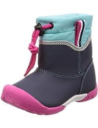 [ムーンスター] ブーツ 防水 軽量 ゆったり 15-19cm(0.5cm有) 2E キッズ MS C2210