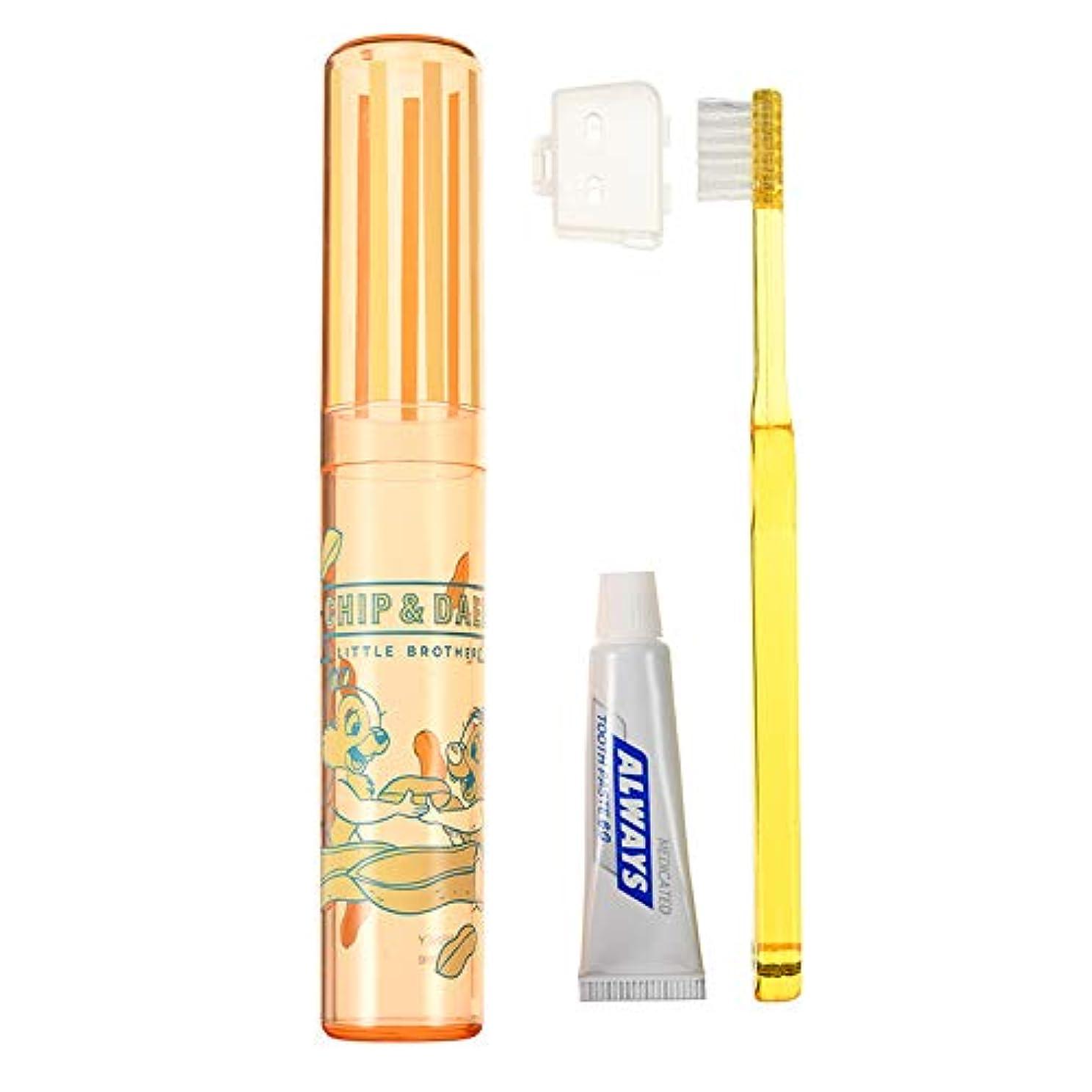 忘れっぽい曲げるハムディズニーストア(公式)歯ブラシ セット チップ&デール