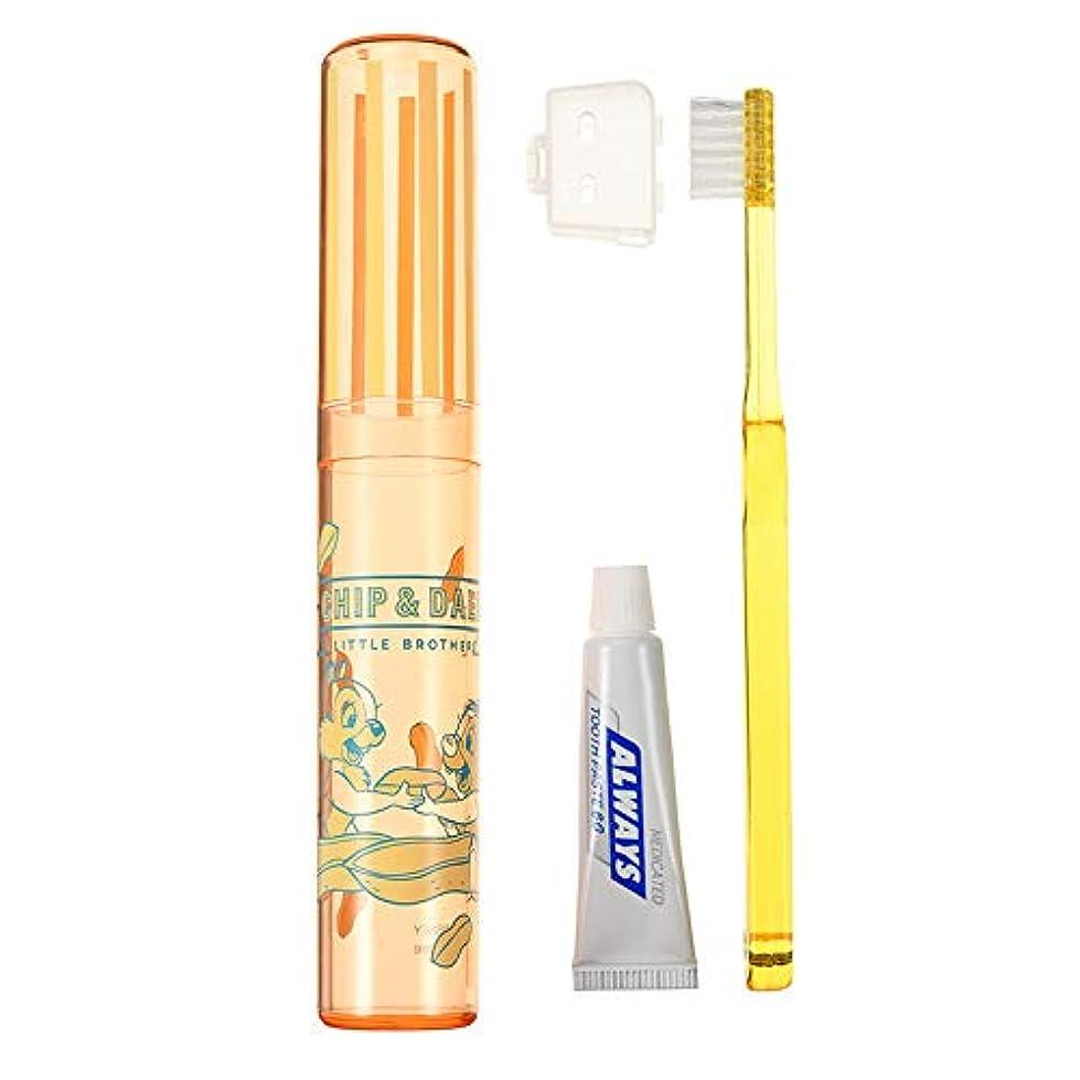 葬儀ホールド謎めいたディズニーストア(公式)歯ブラシ セット チップ&デール