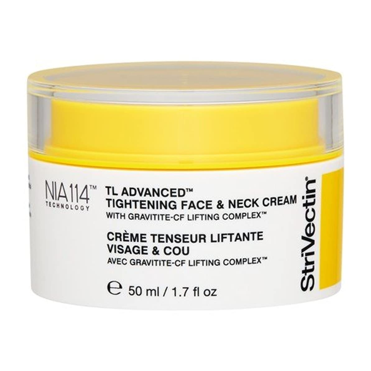 北米余暇素人ストリベクチン TL アドバンス タイトニング フェース& ネッククリーム 50ml [並行輸入品]