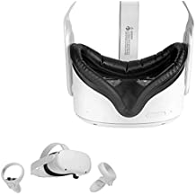 Wasserstein Face Cover Compatible with Oculus Quest 2 - Soft and Sweat-Proof, Great for Long Hours of VR Gaming