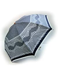 KitagawaSyouten[キタガワショウテン] 晴雨兼用傘 レディース 日傘 雨傘 折畳傘婦人 ベージュ