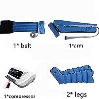 電気空気圧縮ポータブルPressotherapyの足の腕のウエストのマッサージャーの圧縮ブーツ機械は血循環を促進します苦痛の疲労を取り除きます,Fullset