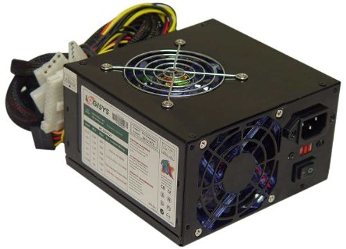 リーチ味方過半数Logisys Corp. 575W 240-Pin Dual Fan SLI Ready Switching Power Supply PS575XBK [並行輸入品]