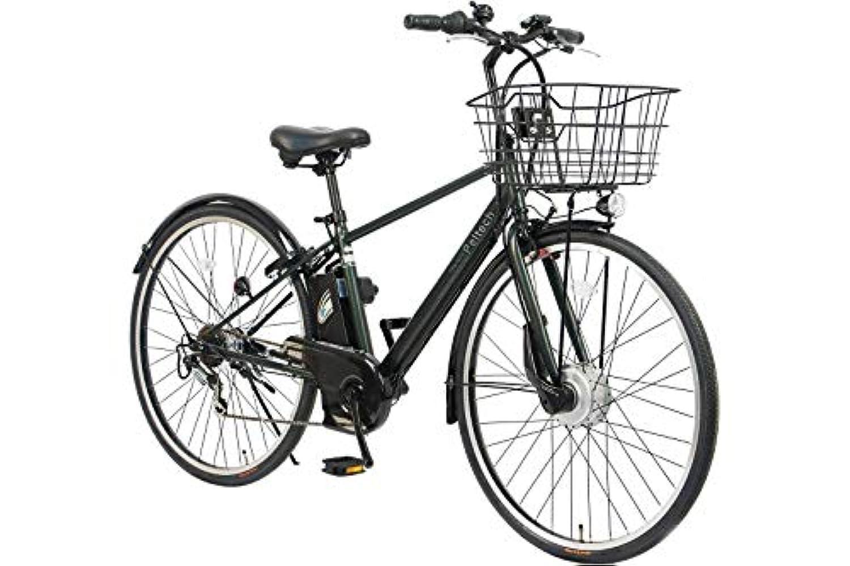 完成品 PELTECH(ペルテック) 電動アシストクロスバイク 27インチ 外装6段変速 TDA-207Z