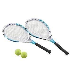Kaiser(カイザー) JR (ジュニア) テニス ラケット セット KW-925 ケース付 レジャー ファミリースポーツ