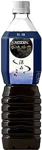 [訳あり(賞味期限2018年6月30日)] ネスカフェ 香味焙煎 深み ボトルコーヒー 無糖 900ml×12本