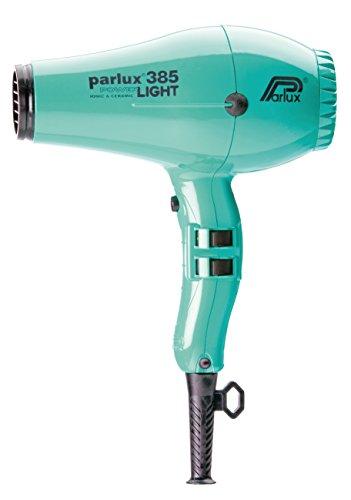 Parlux 385 Powerlight Ceramic & Ionic Dryer 2150W, Aquamarine