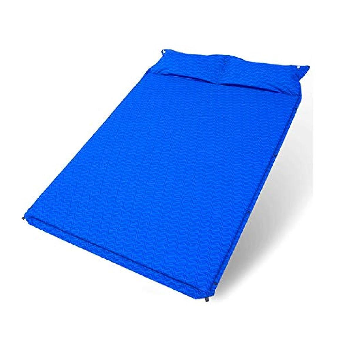 振り子打倒悲しむJia Xing パッドシエスタエアマットレスポータブル昼休みマットクッションカーマットレスエアベッドをスリーピングダブルエアベッド自動インフレータブルクッション屋外のテント エアベッド