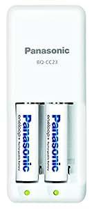 パナソニック eneloop 急速充電器セット 単3形充電池 2本付き スタンダードモデル K-KJ23MCC20