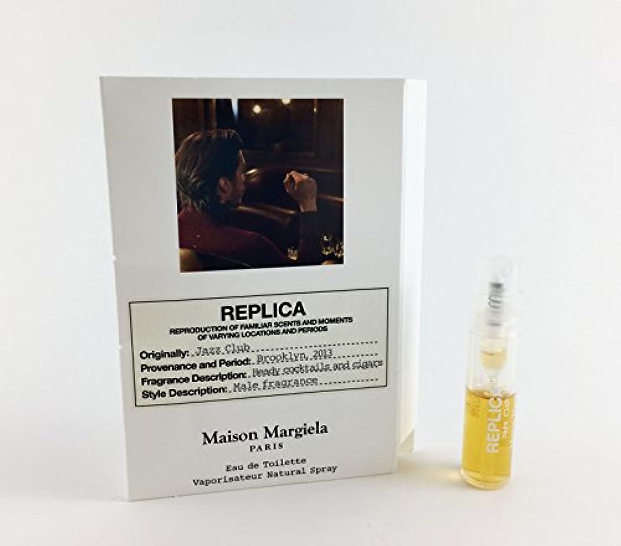 悪性腫瘍順応性のある背景Replica - Jazz Club (レプリカ - ジャズ クラブ) 0.05 oz (1.5ml) Fragrance Sample (メーカーサンプル) for Men