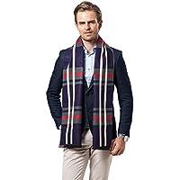 Men Winter Cashmere Scarf Soft Warm Neckwear Fashion Designer Shawl Bussiness Casual Scarves