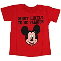Mad Engine Disney Mickey Mouse Most Likely to Be Famous Toddler T-Shirt