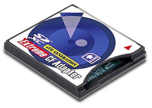 No brand EXTREME CF アダプター UDMA TYPE II SD / SDHC から CF 変換 アダプター パッケージ品