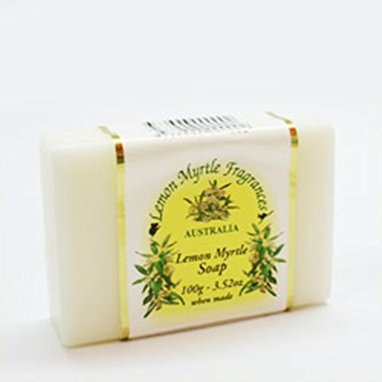 喉頭農民書くレモンマートルソープ(プレーン) 100g