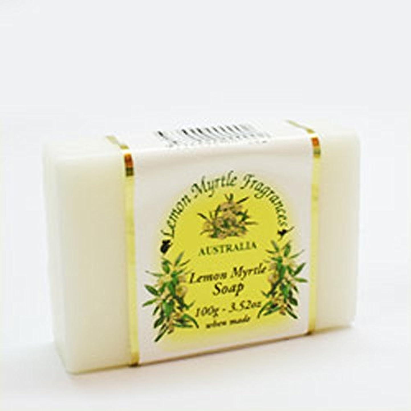 ファイル窒息させる売り手レモンマートルソープ(プレーン) 100g