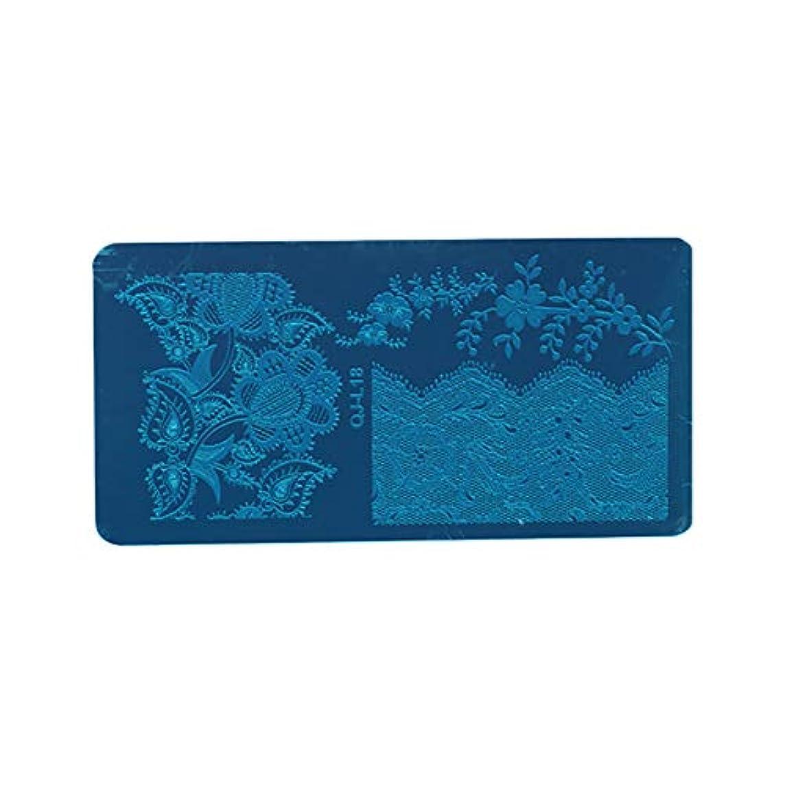 トムオードリース不毛の壊すDigakdog ネイルイメージプレート ヨーロッパ エレガント 花柄 スタンピングイメージプレート ネイルアートツール 家庭 ネイルサロン プレゼント 1枚