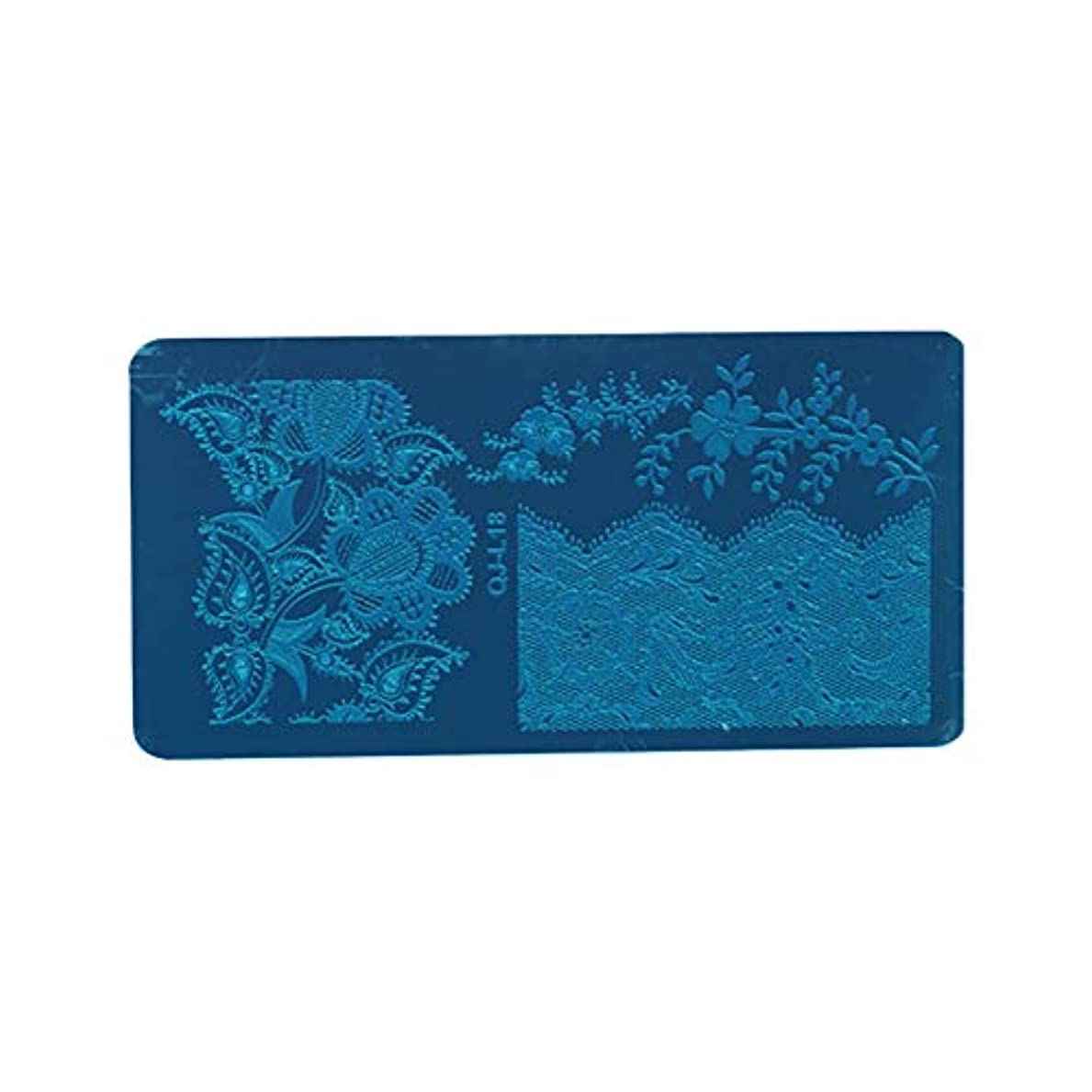 クローゼット前書き美的Digakdog ネイルイメージプレート ヨーロッパ エレガント 花柄 スタンピングイメージプレート ネイルアートツール 家庭 ネイルサロン プレゼント 1枚