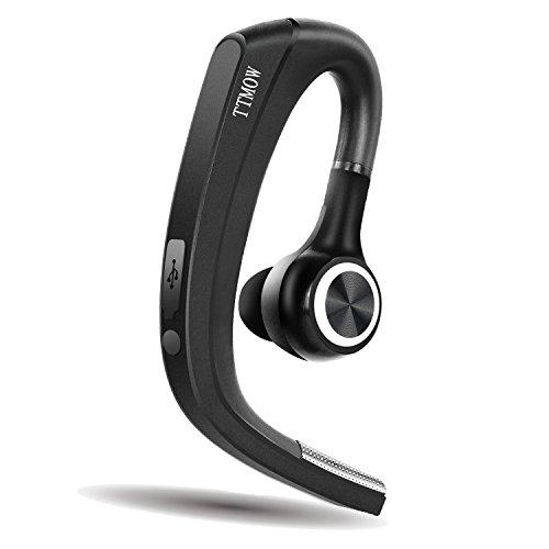 Bluetooth4.1 ヘッドセット TTMOW 2018年最新版 マイク内蔵 耳にピッタリデザイン 高音質ワイヤレスヘッドセット ステレオハンズフリー Bluetooth 携帯電話 両耳対応 防汗防滴 受話器が回転可能(日本語説明書付き)