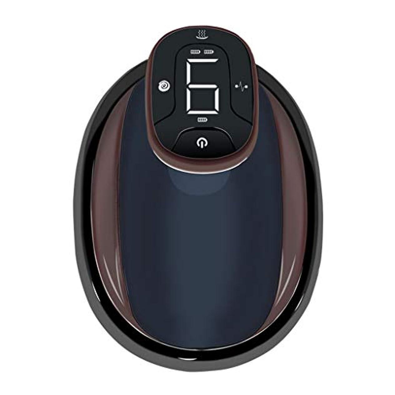 微生物詩夜間電動スクレーピングマッサージ、USBネガティブメリディアンマッサージ、バック&ボディウエストレッグマッサージ用,黒