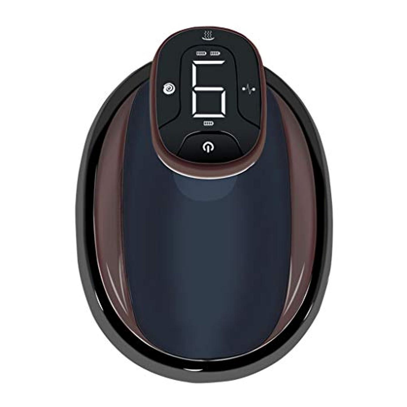 ハーブヒロイック教え電動スクレーピングマッサージ、USBネガティブメリディアンマッサージ、バック&ボディウエストレッグマッサージ用,黒