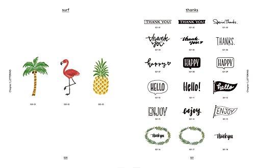 ハンドレタリング素材集 TAM'S WORKSによる手書き文字・フォント・スタンプの世界
