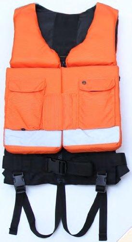 {Relief}リリーフ ライフジャケット フローティングボードを搭載し、直立浮遊を可能にしたライフジャケット