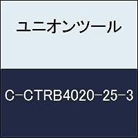 ユニオンツール 超硬エンドミル テーパボール R1×刃長25×片角1.3°CCTRB4020253