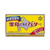 雪印北海道バター 食塩不使用 200g×24個