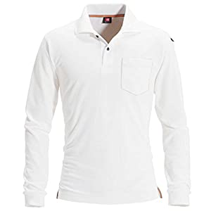 BURTLE バートル 長袖ポロシャツ (春夏用) 505