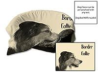"""45""""x 31""""ボーダーテリアデザインフリーク犬ベッド保護ブランケット/スローペットシートセーバー(クリーム)"""