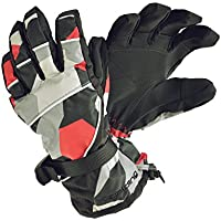 SPALDING(スポルディング)防水機能付 大人用 メンズ スキーグローブ ボードグローブ 手袋□RED GSPB-351AD レッド