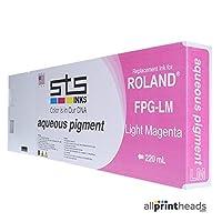 交換カートリッジfor Roland Aqueous顔料220ml ( C、M、Y、B、O、G、LC、LM ) FPG