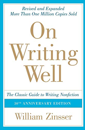『On Writing Well: The Classic Guide to Writing Nonfiction』のトップ画像
